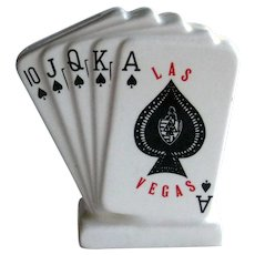 Playing Card Bank / Las Vegas Bank / Deck of cards Bank