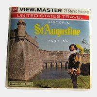 St Augustine Florida View-Master / Three Reel Pack / United States Travel / Collectible View-Master / Vintage View-master