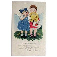 Gibson Valentine Postcard / Vintage Ephemera / Holiday Postcard