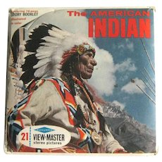 The American Indian View-Master / Three Reel Pack / Collectible View-Master / Vintage View-master