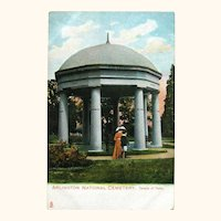 Tuck Postcard Arlington National Cemetery / Temple of Fame / Ephemera