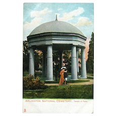 Tuck Postcard Arlington National Cemetery / Temple of Fame / Ephemera