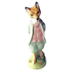 Beatrix Potter Foxy Whiskered Gentleman / Royal Doulton / Beswick