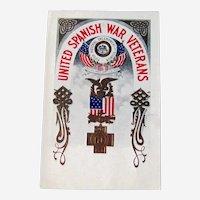 United Spanish War Veterans Postcard / Reunion Card / Ephemera