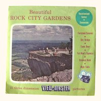 Rock City Gardens View-Master / View-Master Three Reel Pack / Vacationland Series / Sawyers View-Master