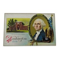 George Washington Postcard / Washington's Tomb / Mount Vernon