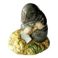 Beatrix Potter's Diggory Diggory Delvet / Beatrix Potter Character /  Beswick Figurine
