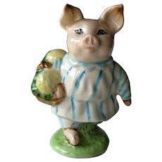 Beatrix Potter Little Pig Robinson Figurine / Beswick England / Storybook Character