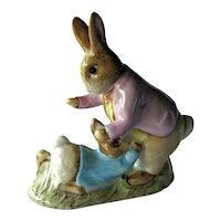 Benjamin Bunny and Peter Rabbit / Beatrix Potter / Beswick