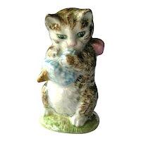 Beatrix Potter Figure Miss Moppet / Beswick Cat / Kitten
