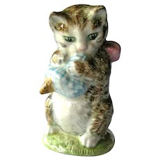 Beatrix Potter Figure Miss Moppet / Beswick Cat / Kitten