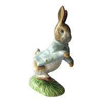 Beatrix Potter Peter Rabbit / Beswick Figurine / English Porcelain