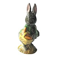 Beatrix Potter's Little Black Rabbit / Beswick Figurine / English Porcelain