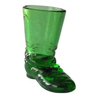 Degenhart Texas Star Boot / Emerald Green Boot / Collectible Boots