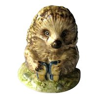 Beatrix Potter Figurine Old Mr Pricklepin / Beswick England