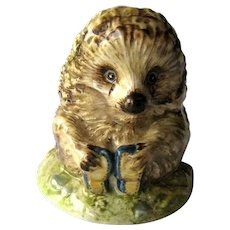 Beatrix Potter Figurine Old Mr Pricklepin / Beswick England