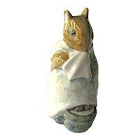 Chippy Hackee Beatrix Potter Figurine / Beswick, England / Beatrix Potter Drawings / Beatrix Potter Stories