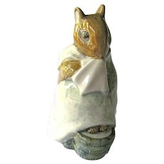 Chippy Hackee Beatrix Potter Figurine / Beswick, England / Beatrix Potter Drawings / Beatrix Potter Stories