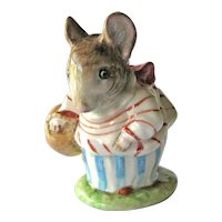 Beatrix Potter Mrs. Tittlemouse / Beswick Figurine / Beatrix Potter Stories