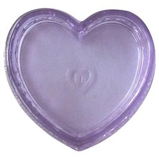 Degenhart Heart Shaped Dish / Degenhart Pin Dish / Degenhart Box
