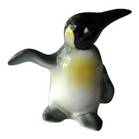 Goebel Penguin - Penguin Flipper Out - Collectible Goebel - Goebel Figurine