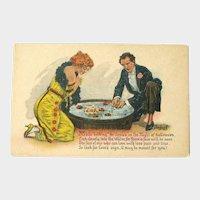 Unused Vintage Halloween Postcard Gottschalk Series 5050 Signed by Artist