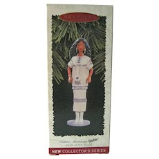 Native American Barbie Hallmark Ornament - Dolls of the World - Barbie Collectible