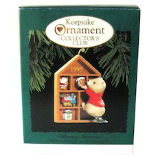 Collecting Memories Hallmark Ornament - Collector's Club Ornament - Handcrafted 1995
