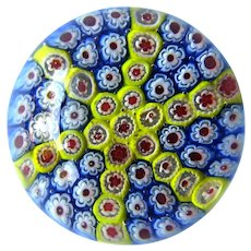 Millefiori Paperweight - Collectible Paperweight - Italian Millefiori