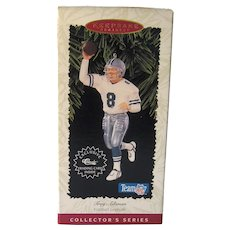 Vintage Hallmark Ornament - Troy Aikman - Football Legends  Number Two