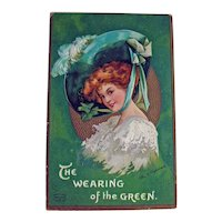 St. Patrick's Day Postcard - The Wearing of the Green - International Art Publishing Company