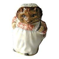 Vintage Beatrix Potter Mrs. Tiggy Winkle - Beswick England - Hedgehog Figurine