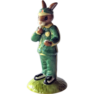Vintage Stop Watch Royal Doulton Bunnykins 2002 Figure of the Year - Collectible Bunnykins
