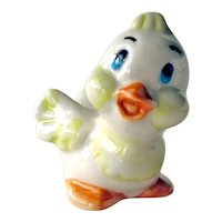 Cute Ceramic Duck Made in Russia - Baby Duck Figurine - Collectible Duck