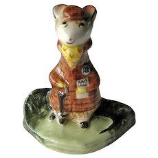 Vintage Beswick Kitty MacBride The Racegoer Figurine - Porcelain Mouse Figurine