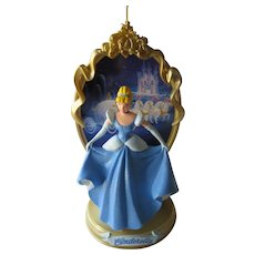 Vintage  Cinderella Hallmark Ornament - First in The Enchanted Memories Collection