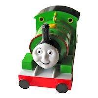 Vintage Hallmark Ornament Percy the  Small Engine - Number Six -  Thomas the Tank Engine