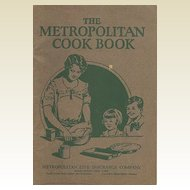 The Metropolitan Cook Book Booklet Advertising