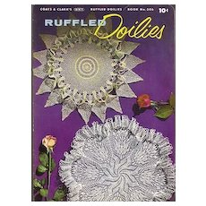 Ruffled Doilies Crochet booklet by Coats & Clark's