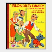 Blondie's Family by Chic Young - Children's Treasure Book