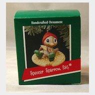 Hallmark Ornament - Spencer Sparrow, Esq. Handcrafted 1989