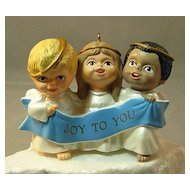 Hallmark Handcrafted Ornament: Joyful Trio