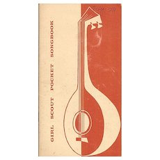 Girl Scout Pocket Songbook 1956