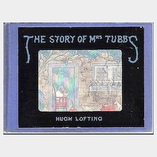The Story Of Mrs. Tubbs -- Vintage Book