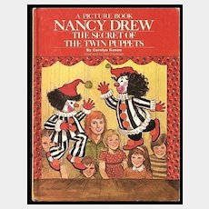 Picture Book NANCY DREW The Secret of the Twin Puppets