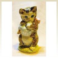 Beatrix Potter Figure Miss Moppet Cat Kitten
