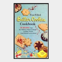 Fun-Filled Butter Cookies Cookbook by Pillsbury