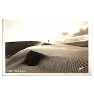 Real Photo Postcard of Great Sand Dunes