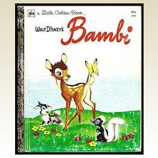 Walt Disney's Bambi - Little Golden Book