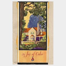 The Joy of Color Booklet by Sherwin-Williams Co.